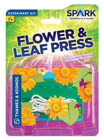 Flower & Leaf Press Experiment Kit By Spark Science