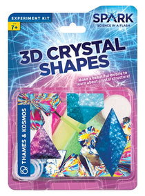 3D Crystal Shapes By Spark Science