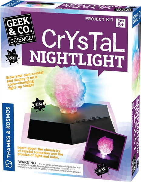 Crystal Nightlight By Geek & Co. Science