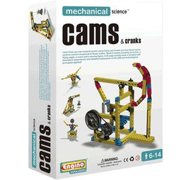 Engino Mechanical Science Cams & Cranks - DISCOVERING S.T.E.M. EDUCATION SERIES