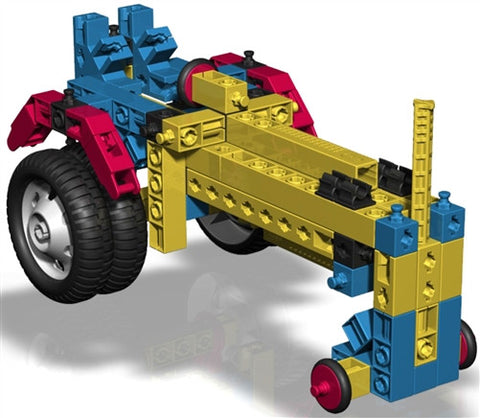 Engino Mechanical Science Wheels & Axles - DISCOVERING S.T.E.M. EDUCATION SERIES