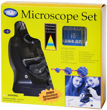 100x, 300x, 600x Microscope Set with Light and Projector by Elenco