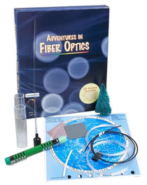 Fiber Optics Voice Data Kit by Elenco