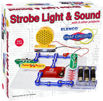 Snap Circuits Strobe Light and Sound