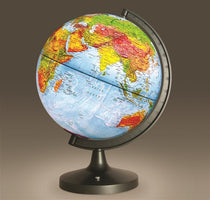 "Elenco 11"" Dual-Cartography LED Illuminated Globe"