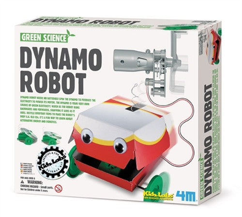4M Green Science Dynamo Robot