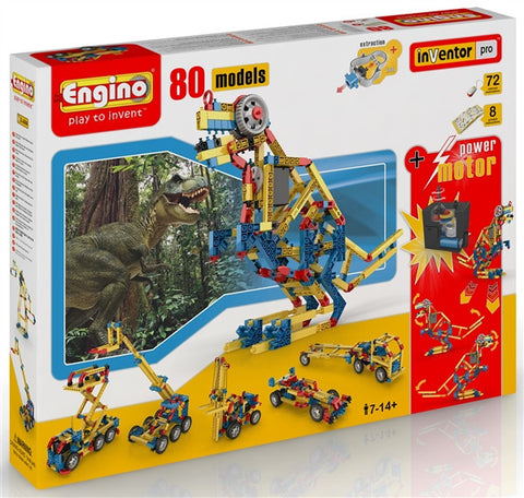 Engino - 80 model set with RC motor
