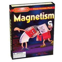 ScienceWiz Magnetism Experiment Kit and Book - 22 Experiments, Magnetism
