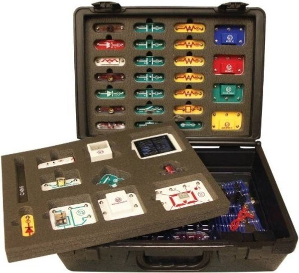 Snap Circuits Extreme Educational 750 Exp. Student Training Program with Deluxe Case | Student Training Program