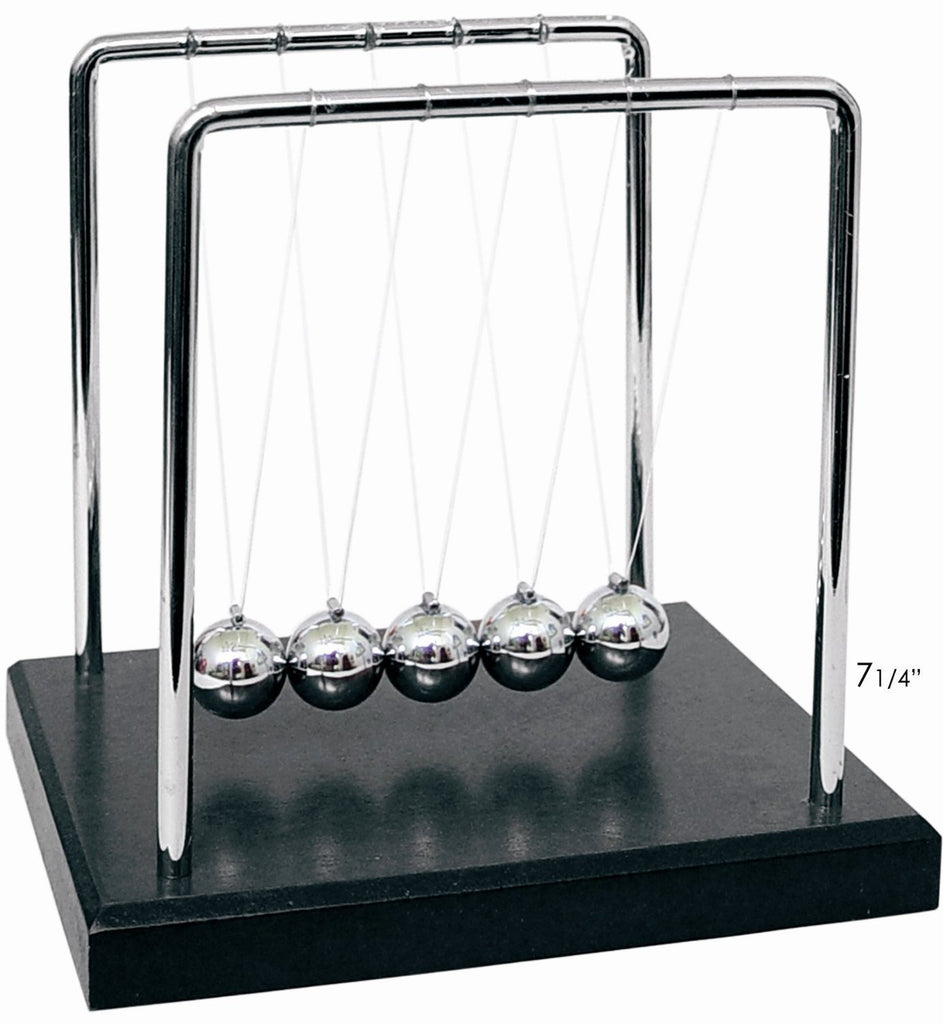 Newton's Cradle Physics Science Kit by Toysmith  ( Kinetic Energy )