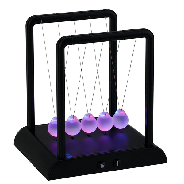 Toysmith Light-Up Newton's Cradle