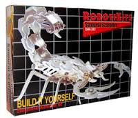 Samurai Scorpion - Aluminum Kit By OWI Robotics