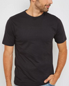 KAYLECT - Basic Crew Neck Black