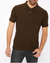 KAYLECT - Classic Pique Brown Polo Shirt