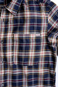 Jack and Jones Vintage Chain Check Long Sleeve Shirt (Made in Bangladesh) - Khazanay