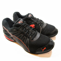 PUMA - Cell Kilter Black Red Blast Mens Athletic Running Shoes