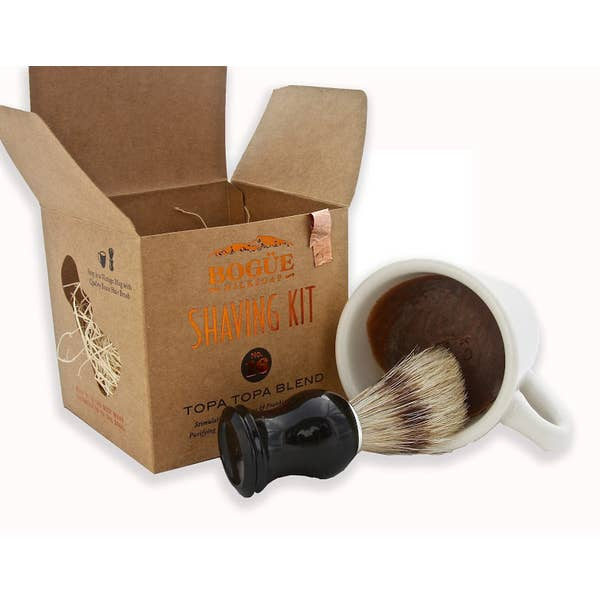 The No.16 Topa Topa Blend Goat Milk Soap Shave Kit