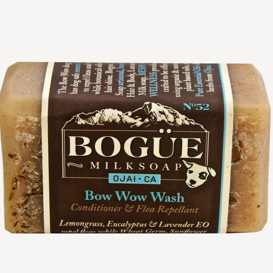 The No52 Bow Wow Goat Milk Dog Wash Bar Soap