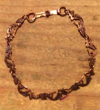Copper Kokopelli Link Bracelet