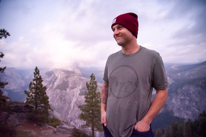 The Yosemite Tunnel View Tee