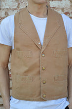 Scully Old West Canvas Vest