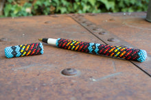 Beaded Pen Holder by Leon Long Soldier