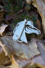 Navajo Horse Head Pendant/Broach