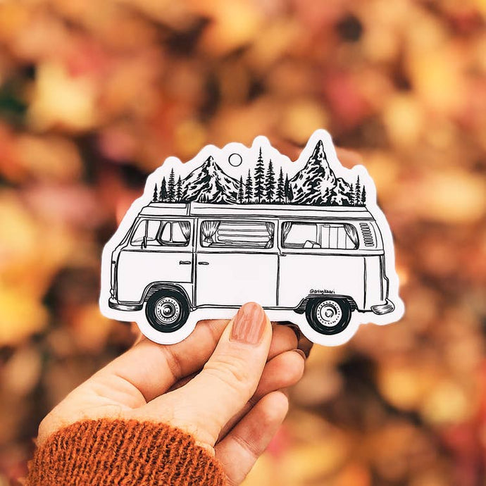 The Mountain Van Vinyl Sticker