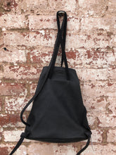 Black Steer Leather Jimmi wZ Backpack