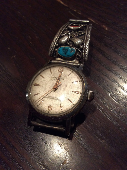 Vintage Native American Watch