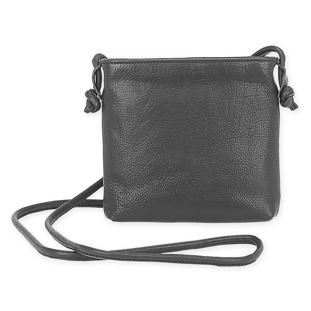 Knotted Vibes Leather Cross Body