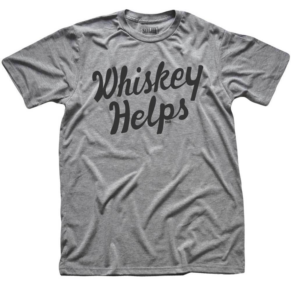 The Whiskey Helps Tee