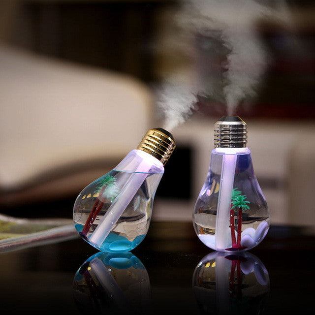 Island Humidifier Light Bulb Lamp