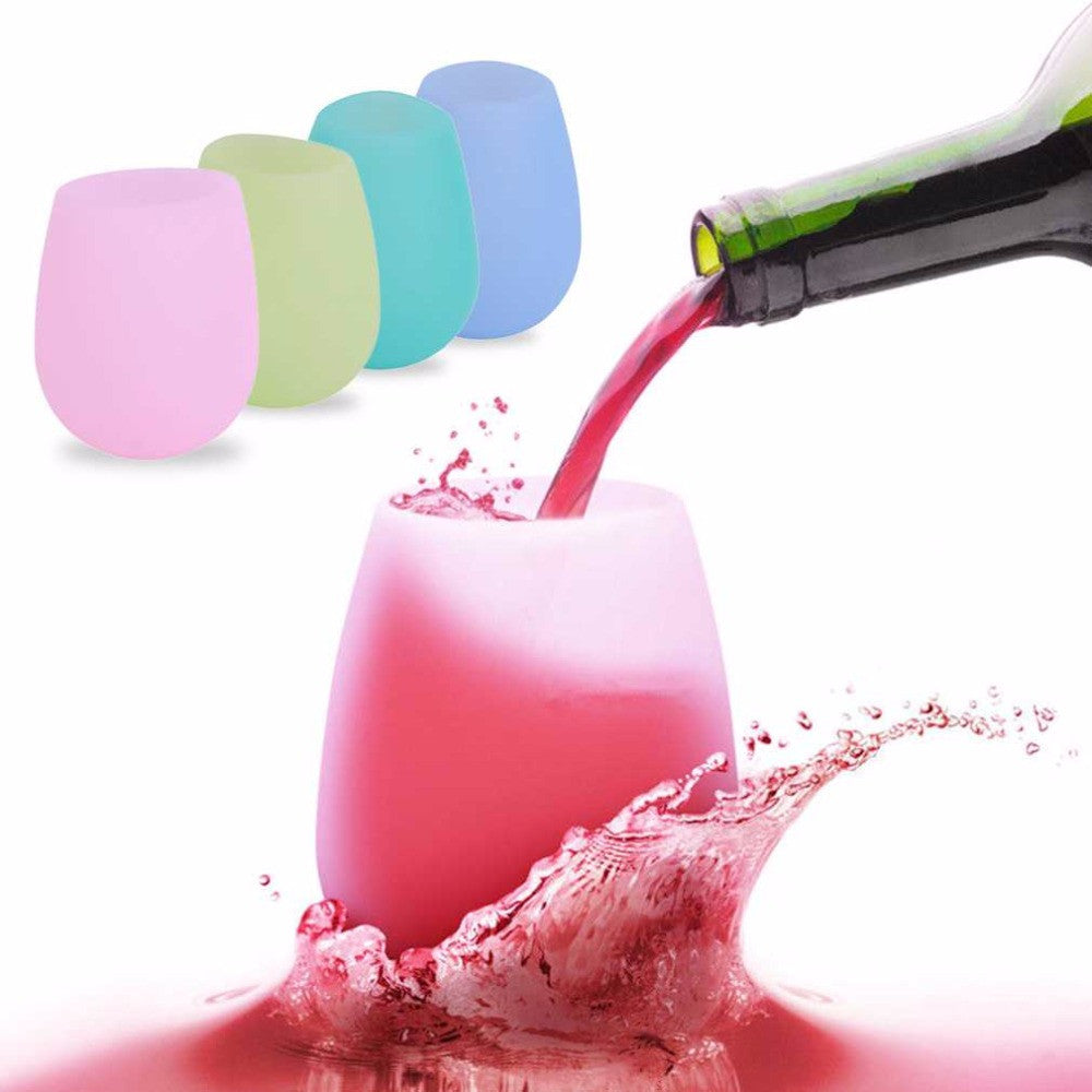 Unbreakable Silicone Wine Glass