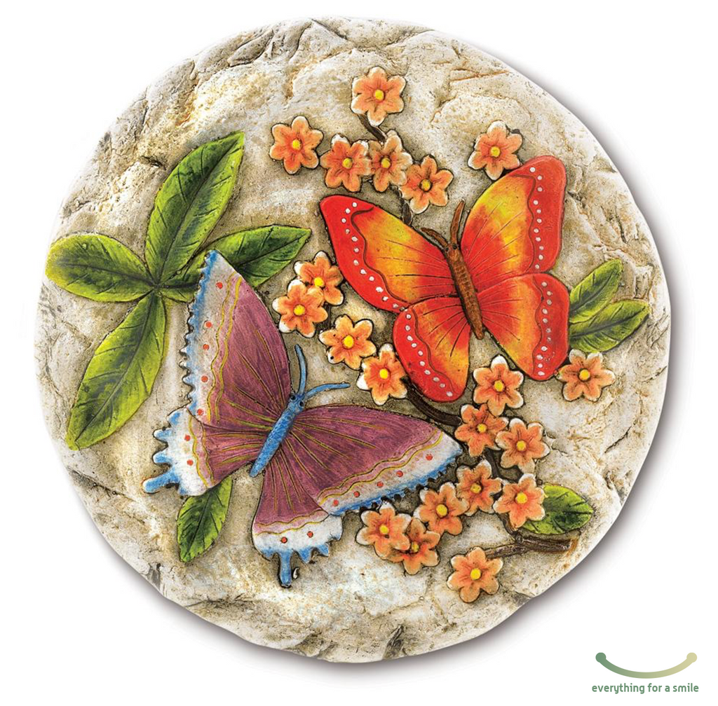 decorative stepping stone - butterfly