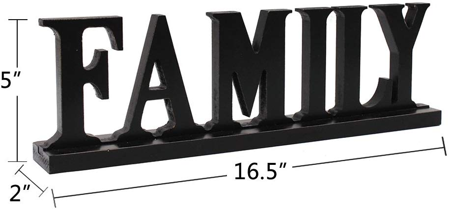 Rustic Wood Sign Family