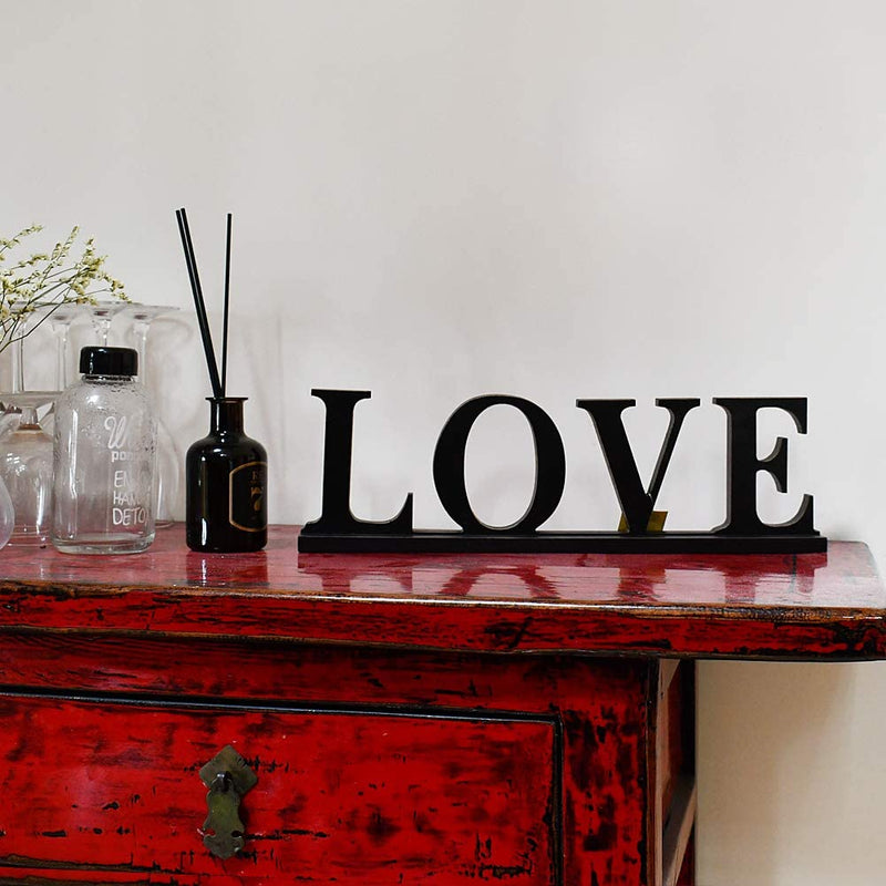 Rustic Wood Sign Love
