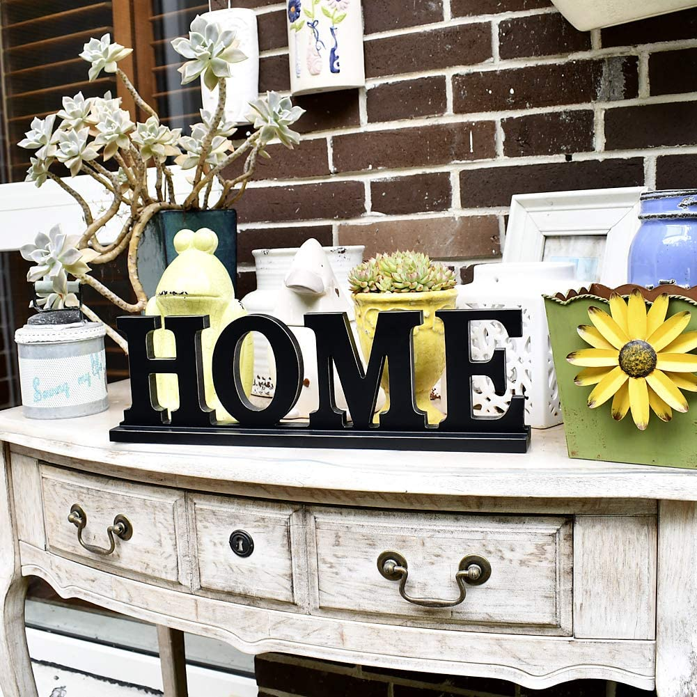 Rustic Wood Sign Home