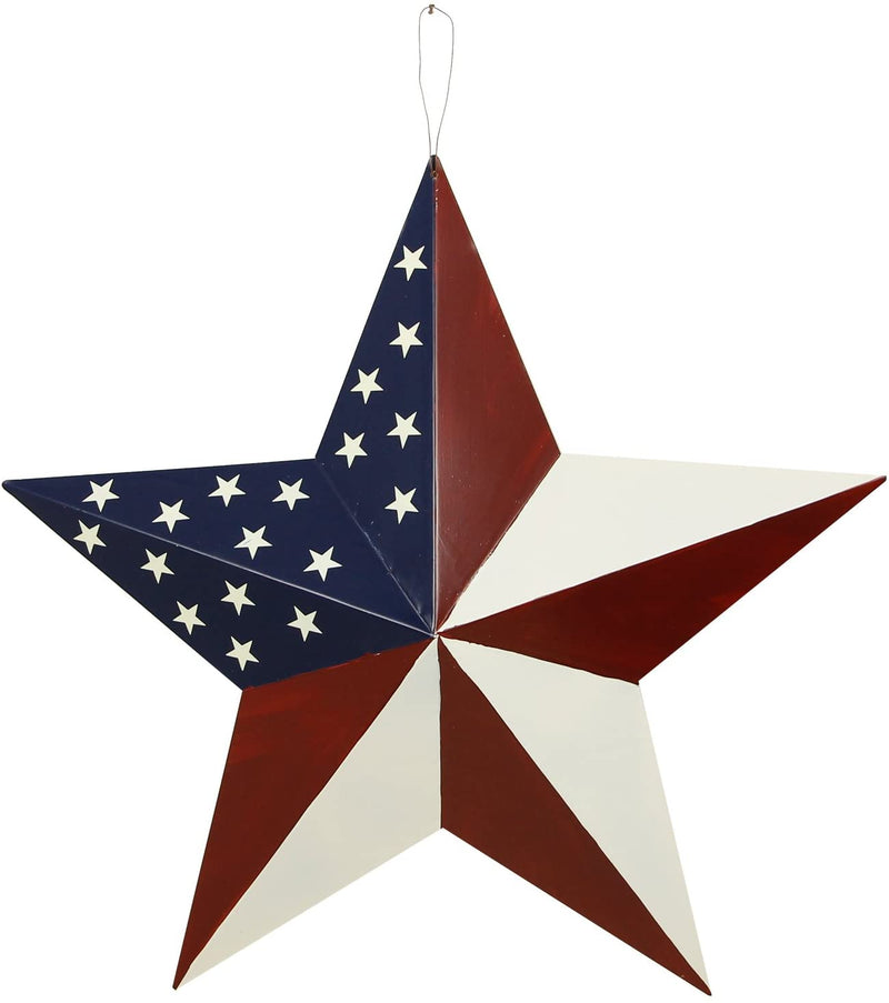 Metal American Barn Star 21""