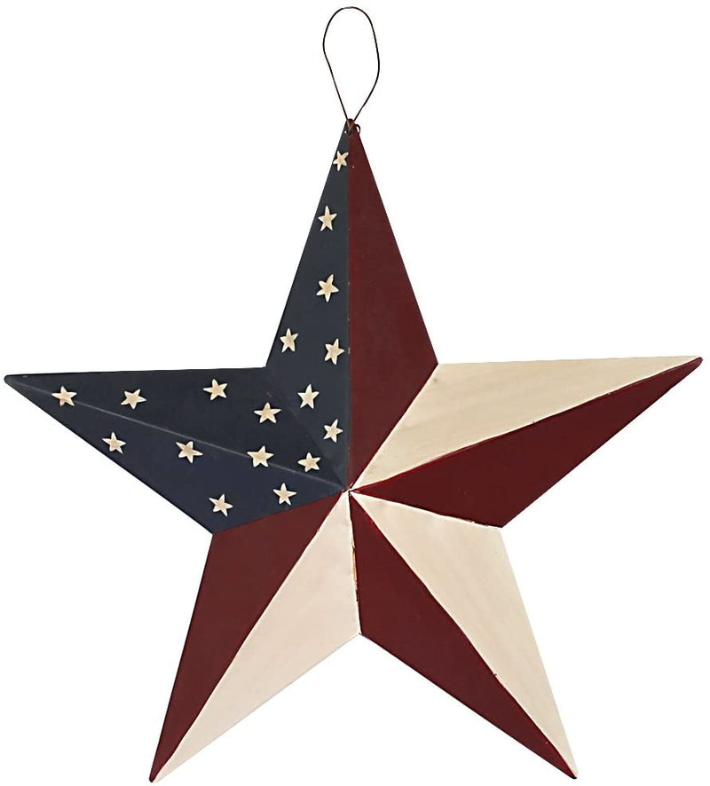 Metal American Barn Star 12""