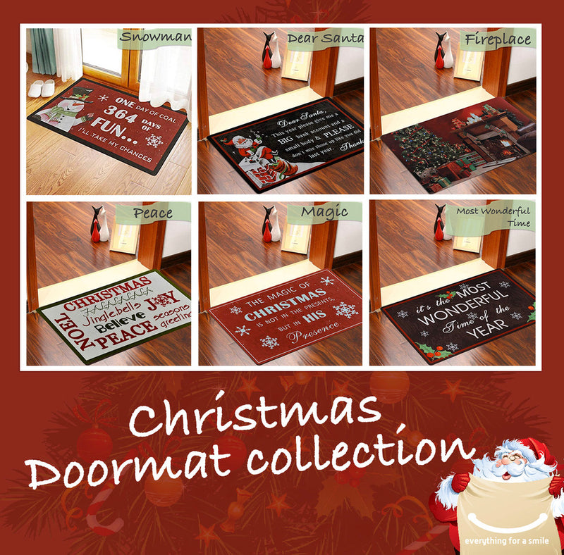 Christmas Doormats Collection