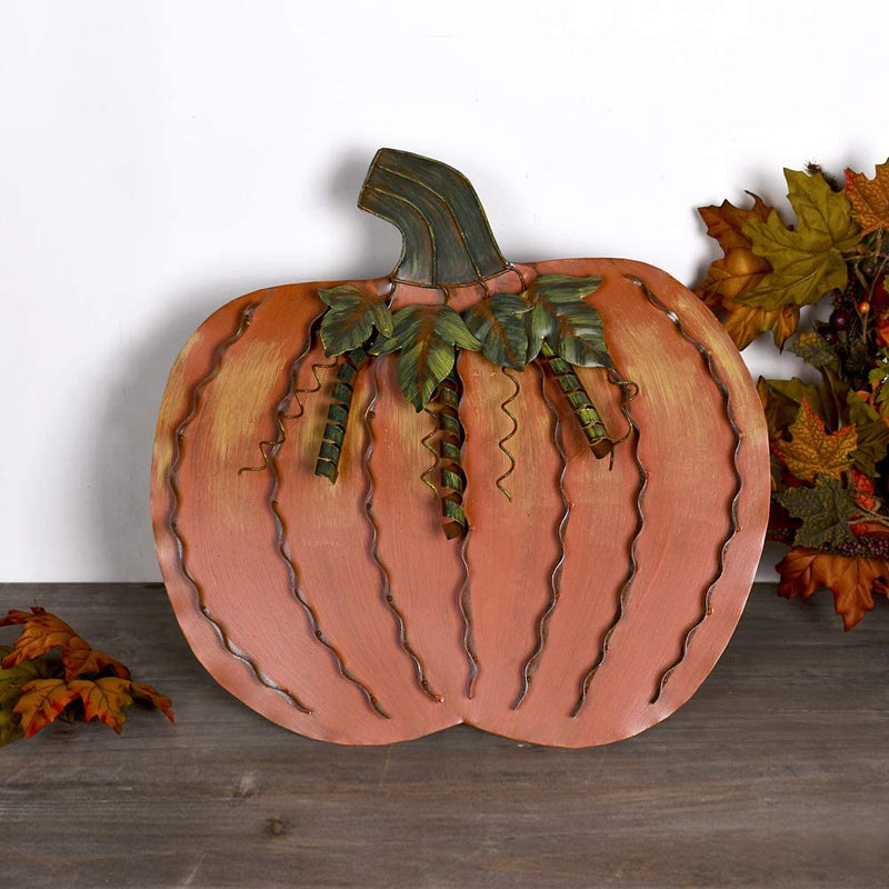 Metal Pumpkin 18,5""