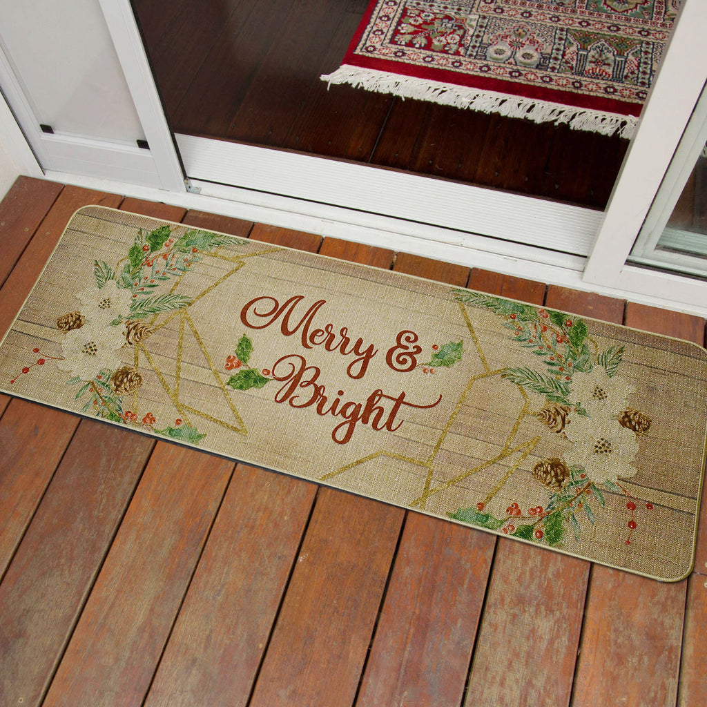 Doormat Merry & Bright