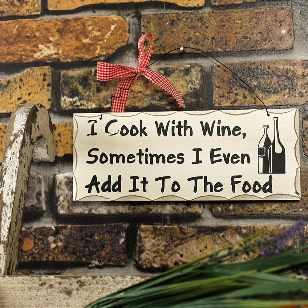 Wooden Wall Sign Wine lovers