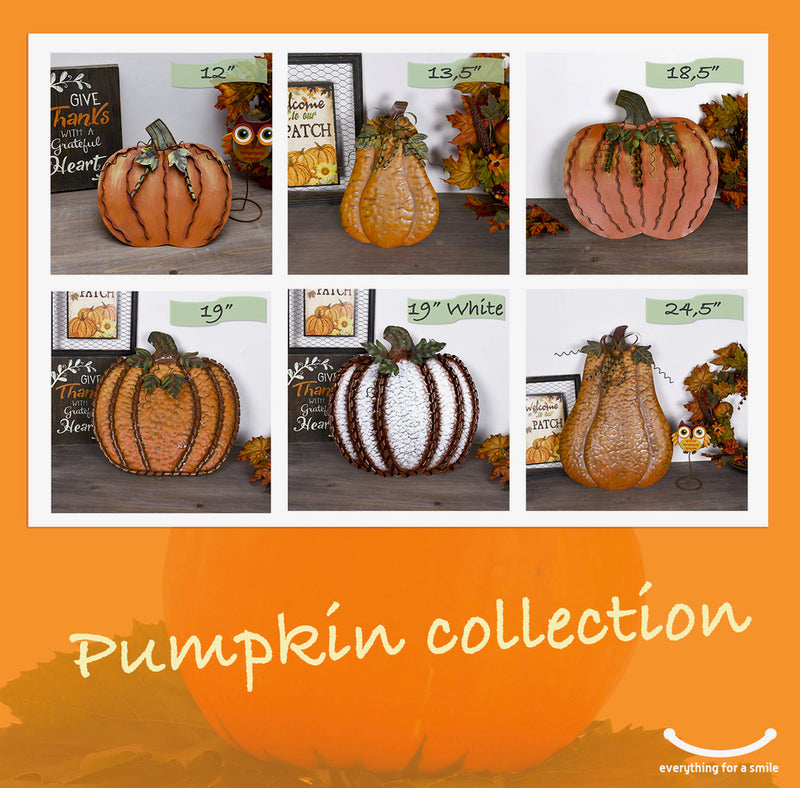 Metal Pumpkin Collection