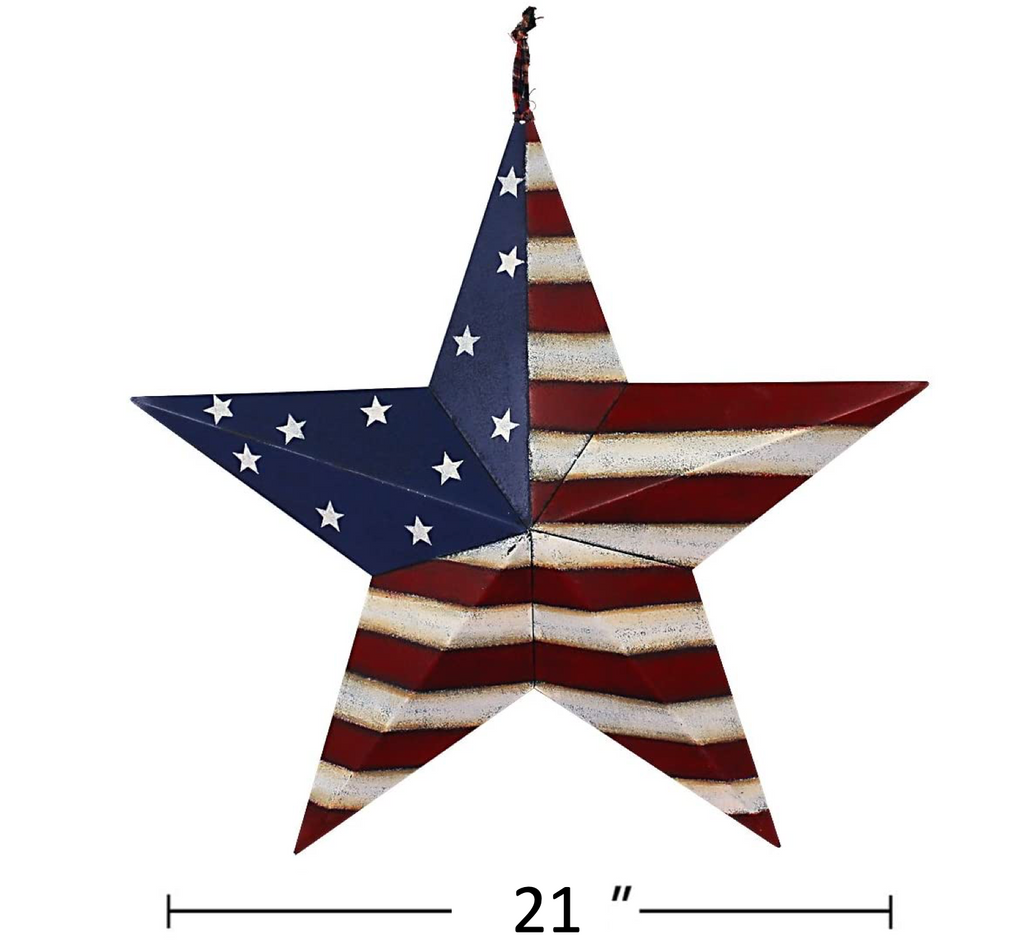 Metal American Barn Stars Collection