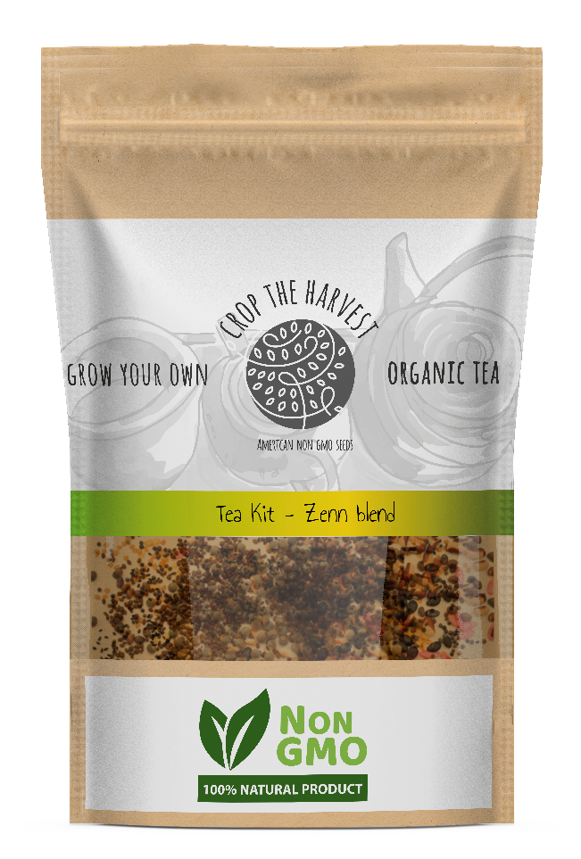 Organic Tea Seed Kit - Zenn blend