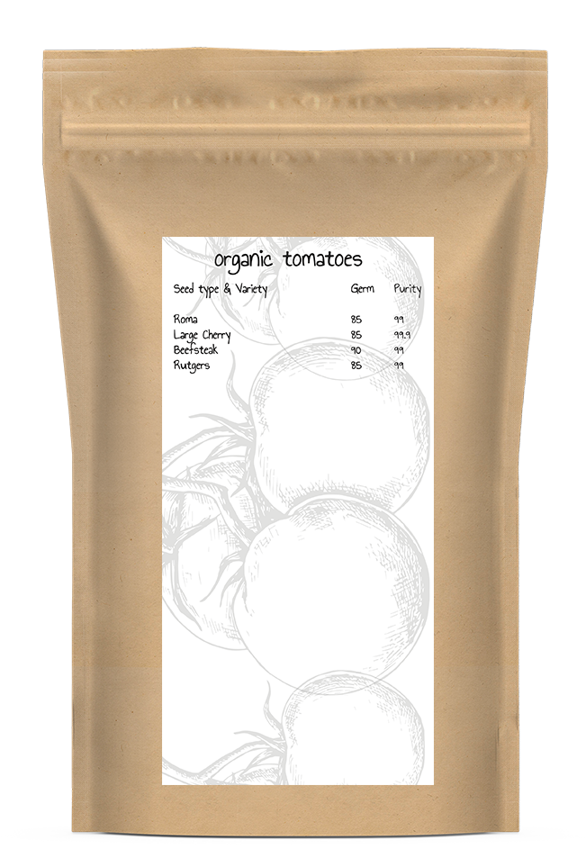Organic Mixed Tomatoes Seed Kit