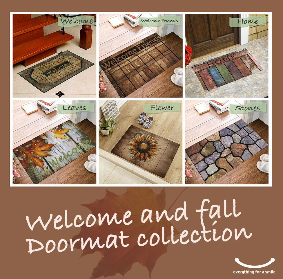 Doormats Welcome Fall