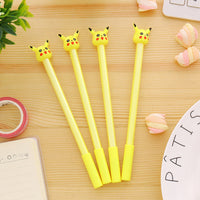 0.38mm Cute Kawaii Pikachu Pokemon Go Gel Pens Lovely Cartoon Bear Pen For Kids Gift School Supplies Free Shipping 2153 - 10MINUS: Online Shopping Destination with High-Quality
